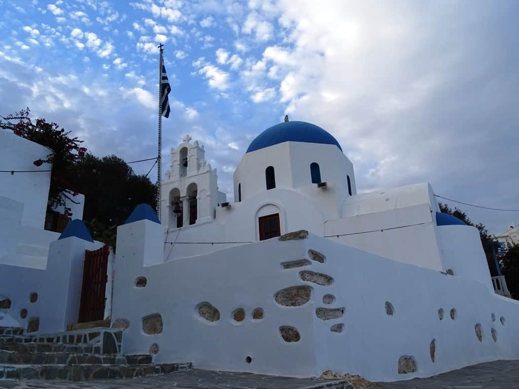The church of Stavros, Donousa