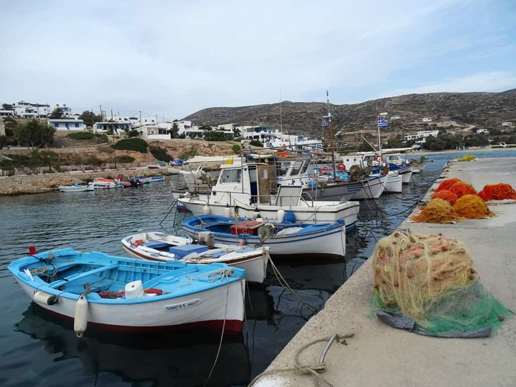 The Port at Stavros Donousa
