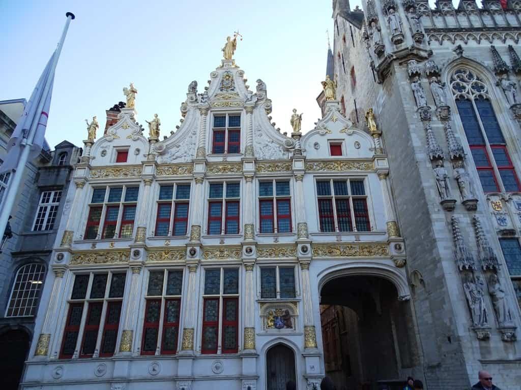 Burg Square Bruges