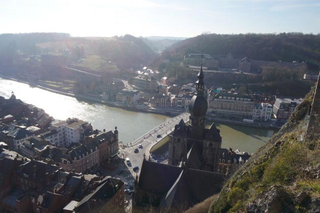 View from the Citadel, Dinant, Belgium