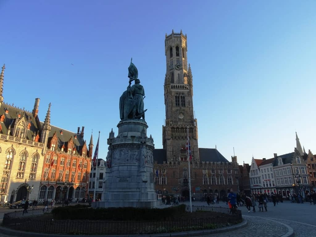 The Belfry in Grand Place Bruges