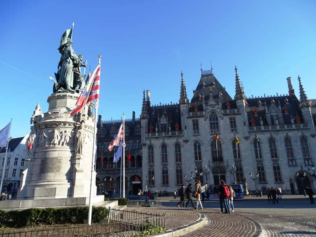 things to do in Bruges`- Market Square