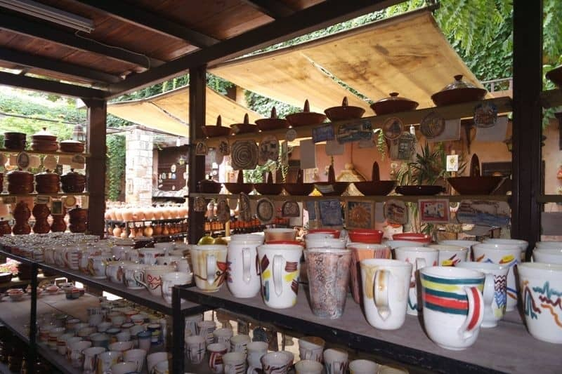traditional pottery shop, Chania, Crete