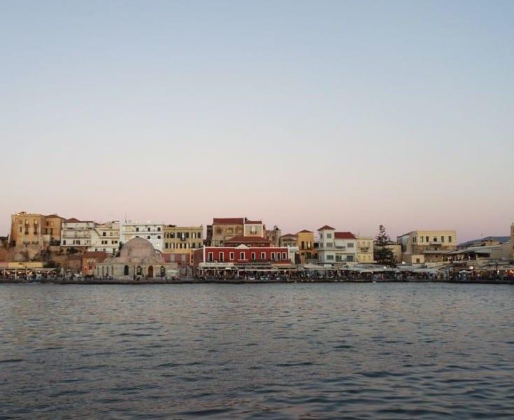 venetian port Chania, Crete