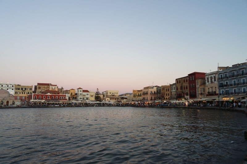 venetian port, Chania, Crete