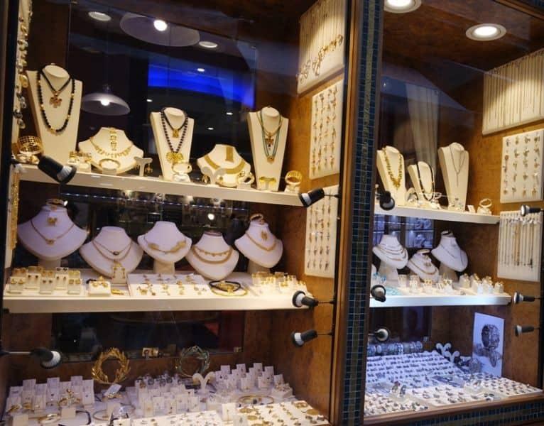Greek Jewellery store