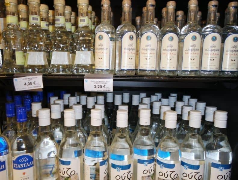 Greek souvenirs - Ouzo