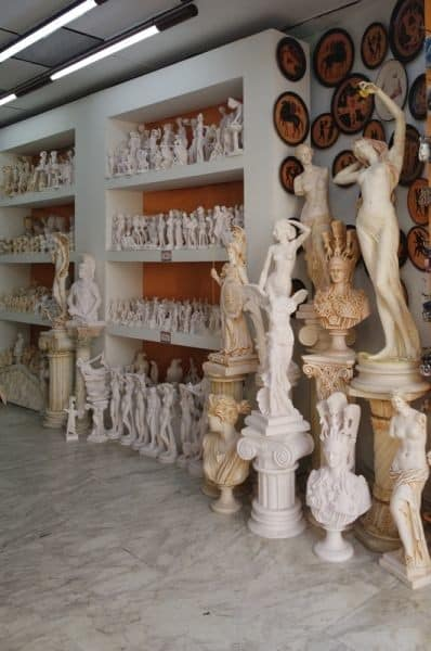 Greek souvenirs - statues