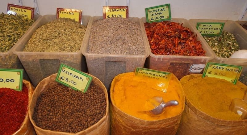 What to biy from Greece - Greek spices