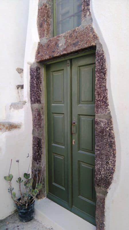 Emporio-village Santorini Greece