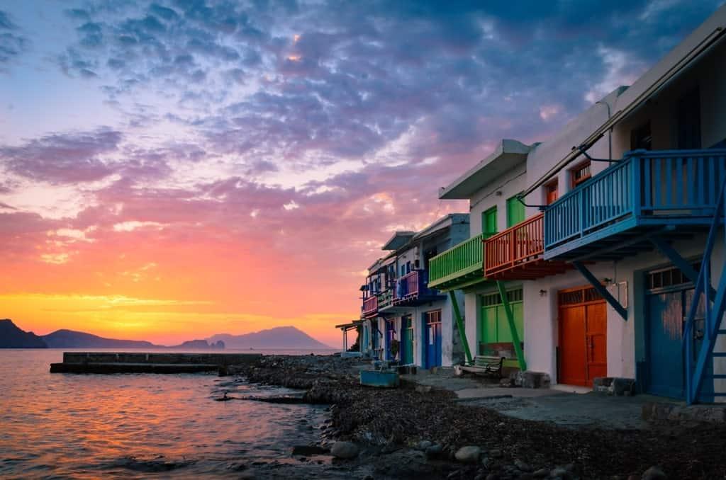Milos - Best Greek islands to visit in September