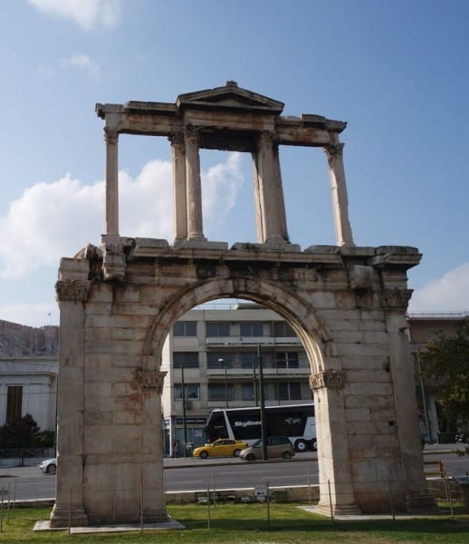 Hadrians Arch Athens