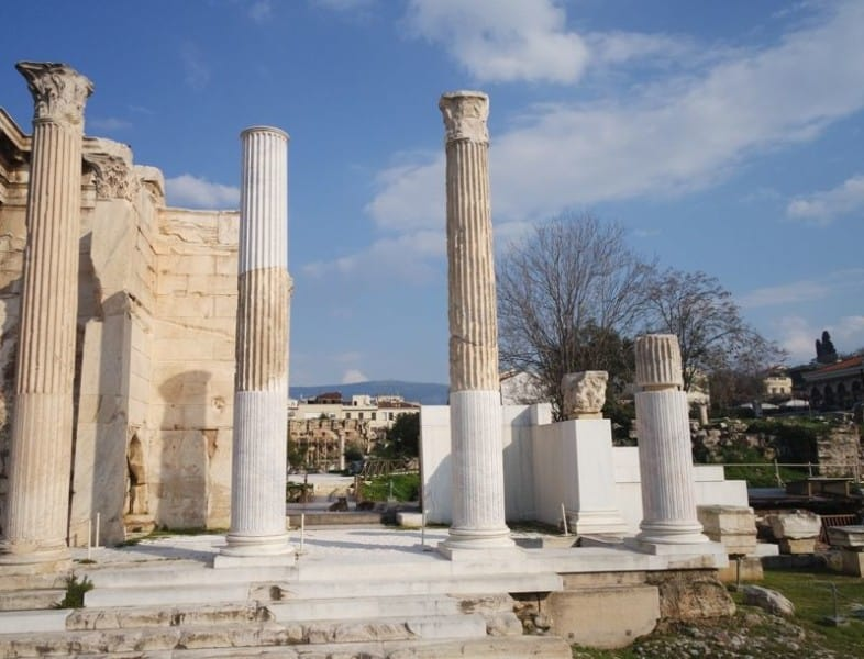 Hadrians Library Athens