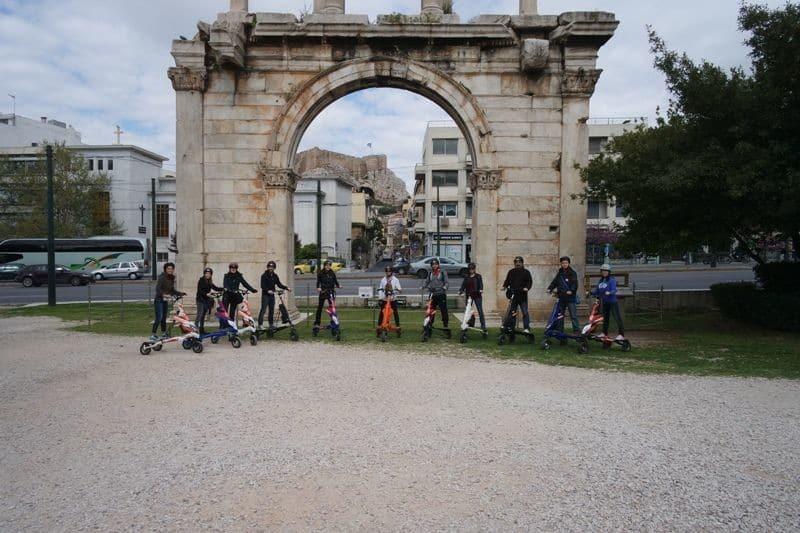 Athens tour Hadrian's Arch