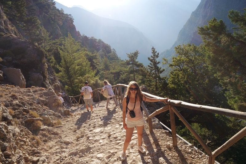 me at Samaria Gorge
