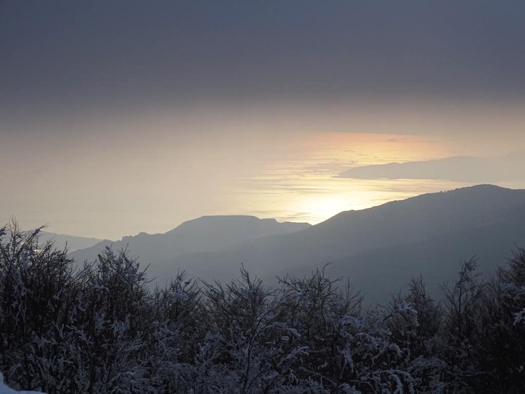 The view from Hania village - Pelion