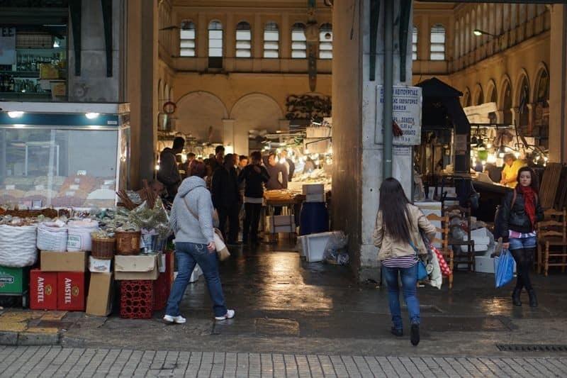 Varvakios Central Market