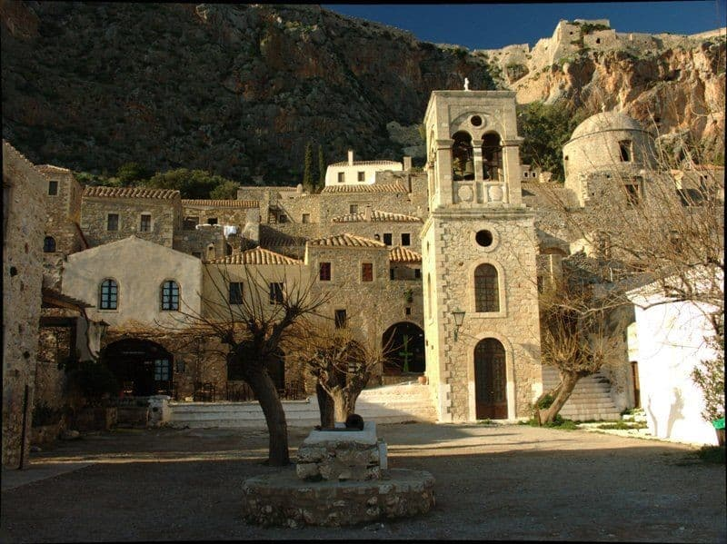 Central square of Monemvasia