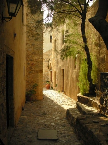 Narrow Streets of Monemvasia