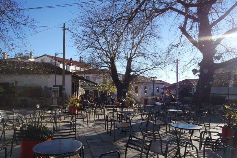 Pelion Portaria square