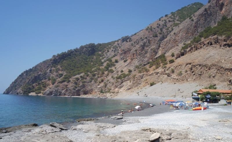 Agia Roumeli beach Crete