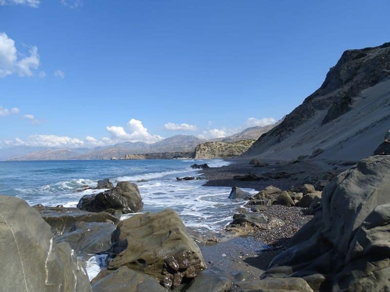 Agios Pavlos sand dunes beach Crete
