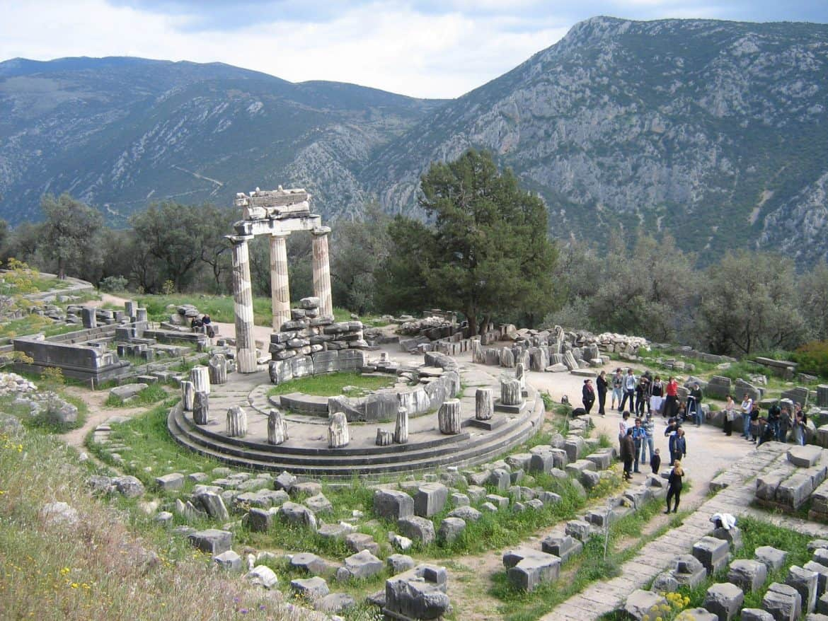 A Day Trip From Athens Delphi Tales From Greece