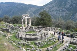 Athena Pronaia Sanctuary Delphi