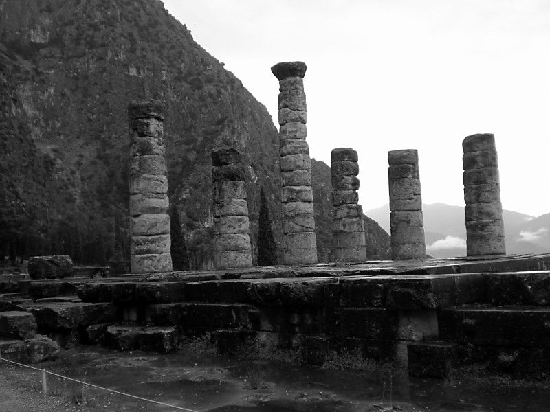 The Temple of Apollo Delphi