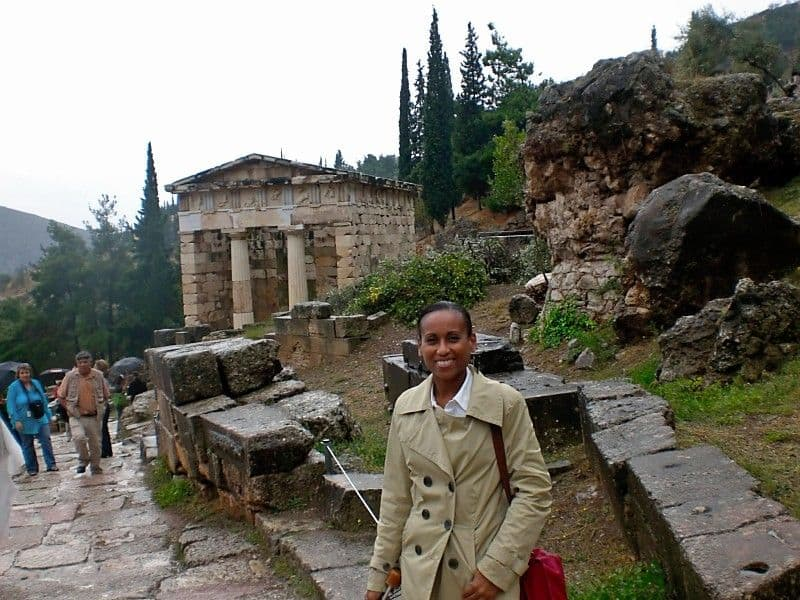 the Treasusry of Athens at Delphi
