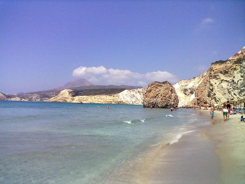 Firiplaka beach Milos island