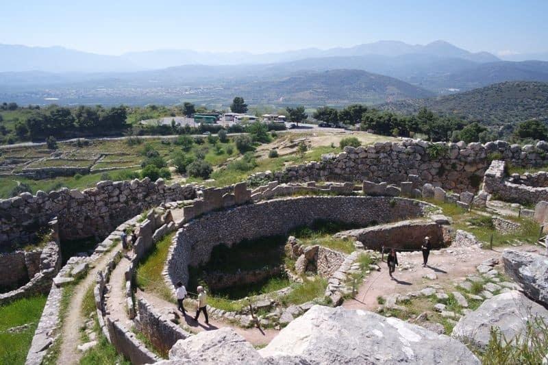 Grave Circle A Mycenae