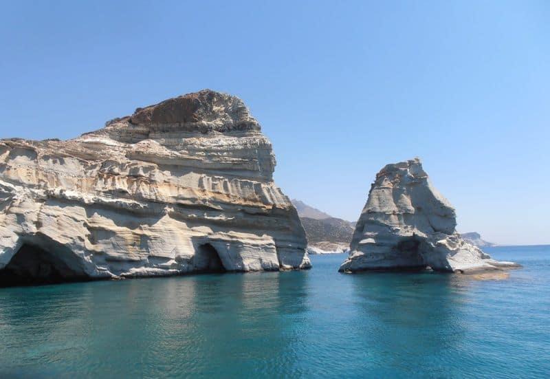 Kleftiko Milos island