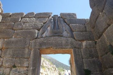 Lion Gate The central entrance to the Acropolis of Mycenae