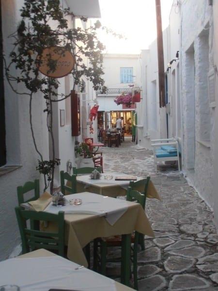 Plaka Milos Island