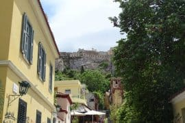 Plaka and the Acropolis