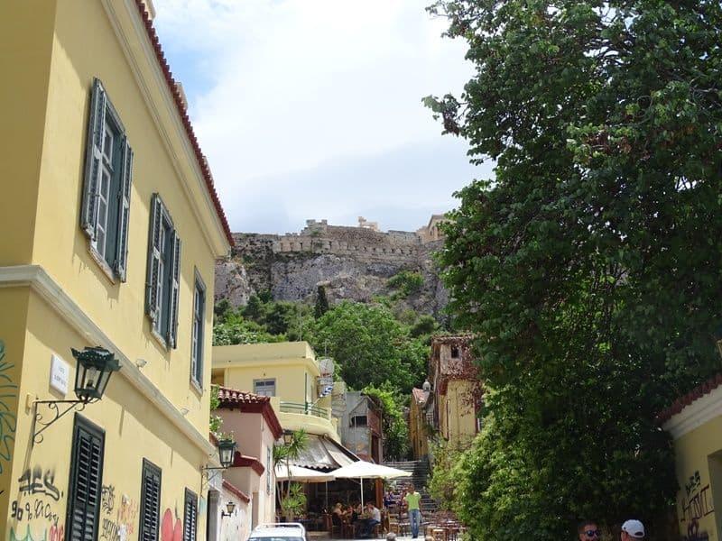 Plaka and the Acropolis