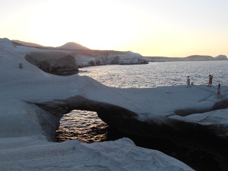 Sarakiniko Beach Milos Island