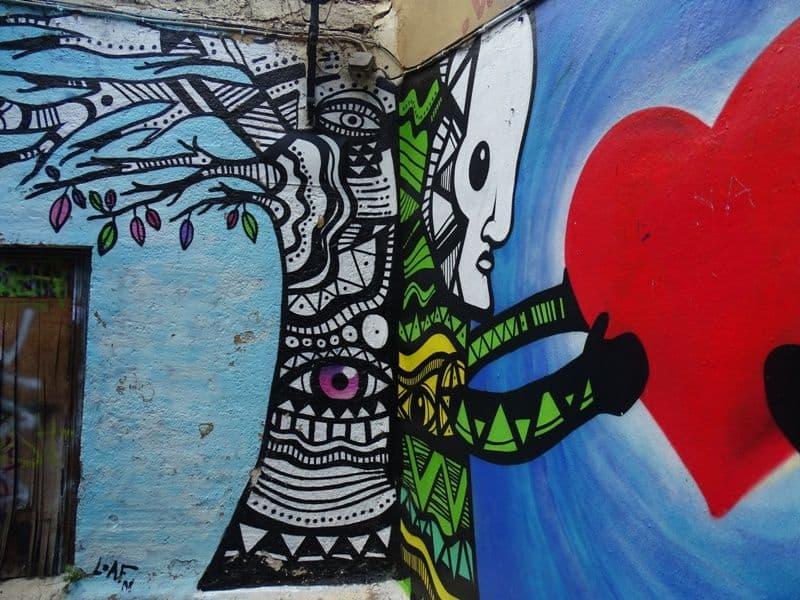 Street Art at Streets around Plaka