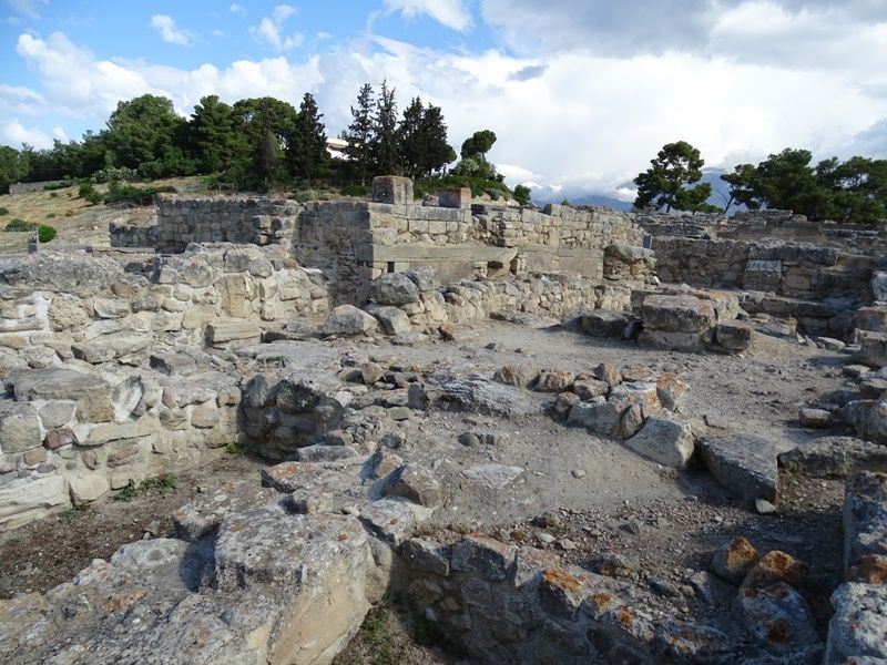 The Archaeological site of-Phaistos