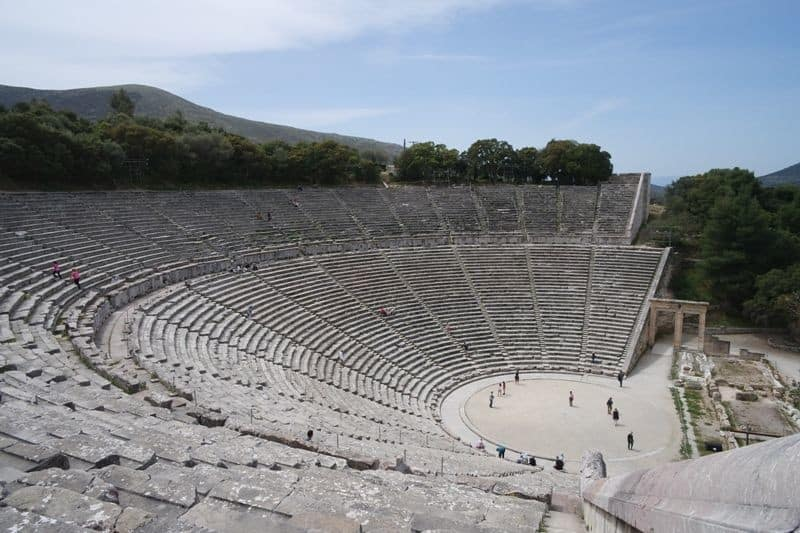 The-ancient-theatre-of-Epidavros