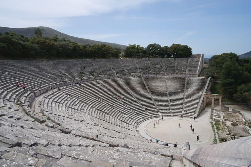 The-ancient-theatre-of-Epidavros