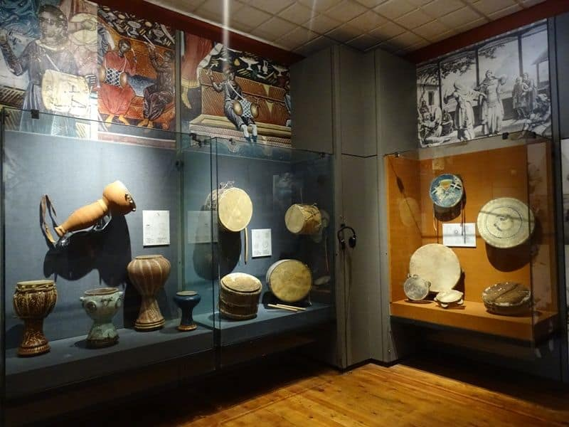 Traditional instruments at the museum