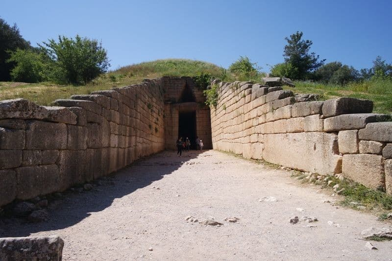 Treasury of Atreus in Mycenae