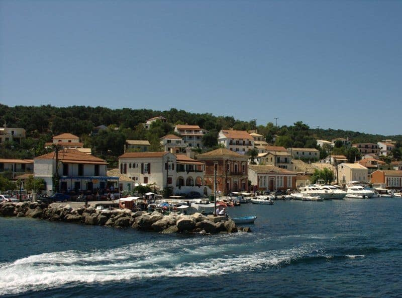 Village of Gaios Paxos island