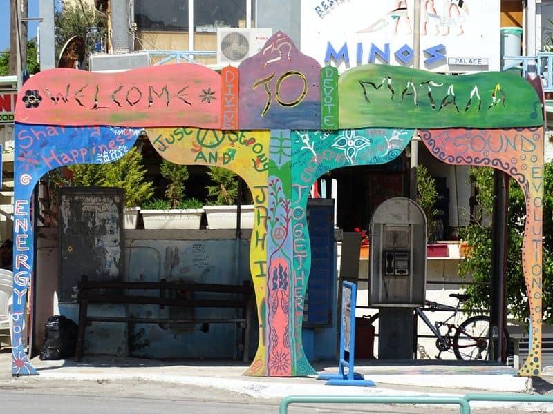 Welcome to Matala, Crete