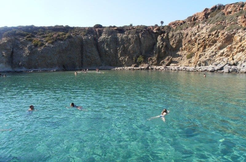 boat tour Milos Island