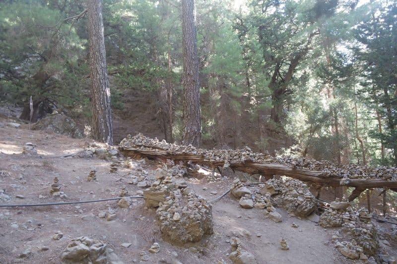 make a wish at Samaria Gorge