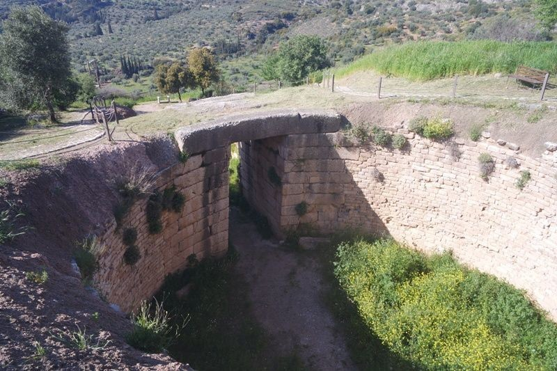 the Vaulted Tomb of Clytemnestra