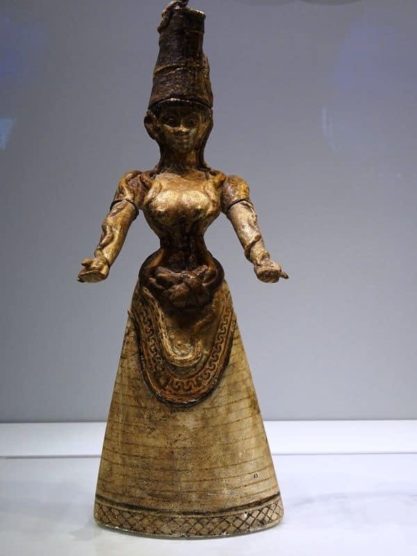 Minoan Goddess Figurine